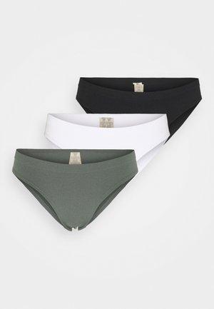 FLO 3 PACK - Underbukse - black/green/white