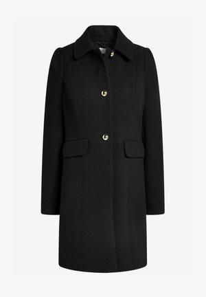 PUFF SHOULDER - Short coat - black