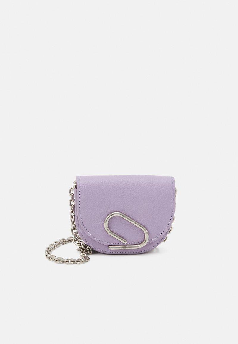3.1 Phillip Lim - ALIX MINI CARDCASE ON CHAIN - Taška spříčným popruhem - lavender