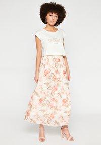 LolaLiza - Pleated skirt - white - 1