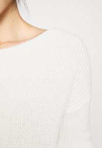 Missguided Petite - OPHELITA OFF SHOULDER JUMPER - Trui - off-white - 4