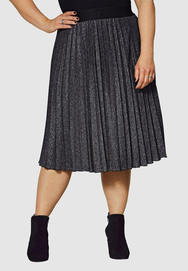 A-line skirt - silberfarben
