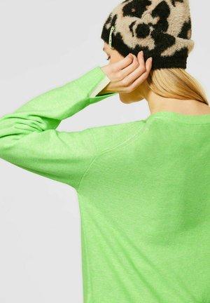 TIGHT FIT - Cardigan - grün