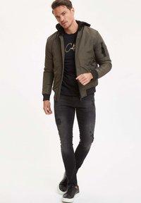 DeFacto - Light jacket - khaki - 1