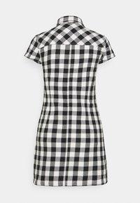 Afends - PIPER - Shirt dress - black / white - 1