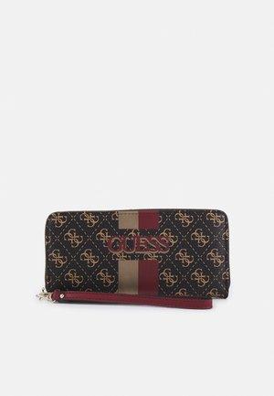 VIKKY LARGE ZIP AROUND - Wallet - brown/merlot