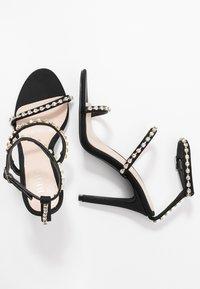 BEBO - SOPHINA - Sandály na vysokém podpatku - black - 3