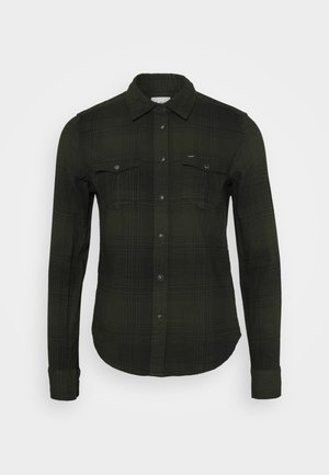 REGULAR WESTERN SHIRT - Skjorte - serpico green