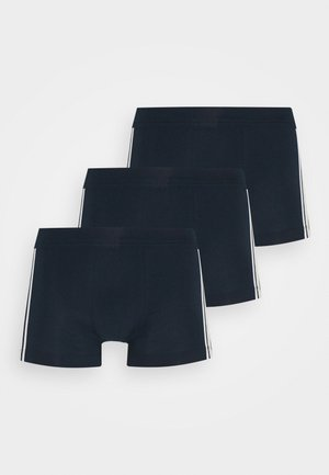 3PACK Shorts Organic Cotton Softbund - 95/5 Stretch - Pants - dark blue