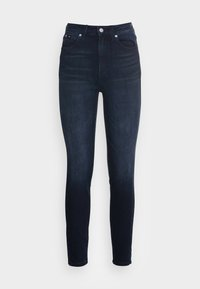 Calvin Klein Jeans - HIGH RISE SKINNY ANKLE - Jeans Skinny Fit - blue - 3