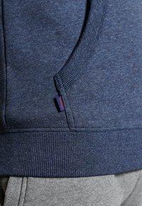 Superdry - VINTAGE LOGO EMBROIDERED - Zip-up sweatshirt - vintage navy marl - 6