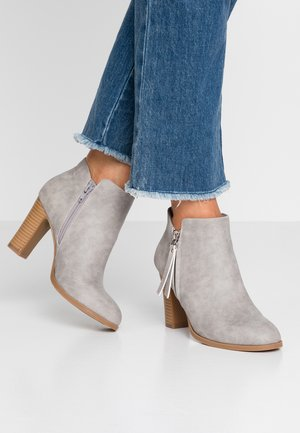 ALUNA - Ankle boots - grey