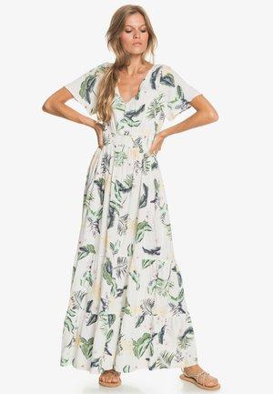 Maxi dress - snow white large praslin