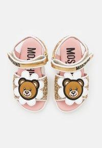 MOSCHINO - Sandals - gold - 3