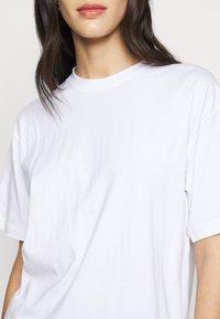 Missguided Tall - SHOULDER OVERSIZED 2 PACK  - Basic T-shirt - blue/white - 6