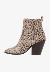 Loeffler Randall - KALI WESTERN BOOTIE - High heeled ankle boots - dune - 1