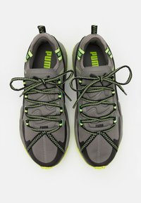 Puma - ERUPT TRL - Trail running shoes - ultra gray/fizzy yellow - 3