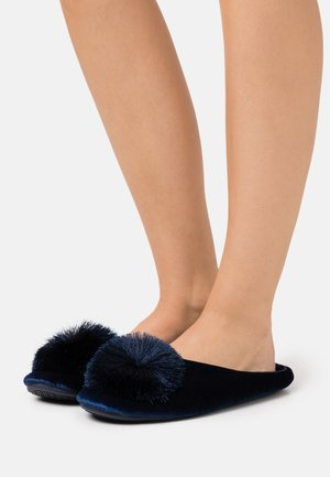 WIDE FIT CERES - Slippers - navy