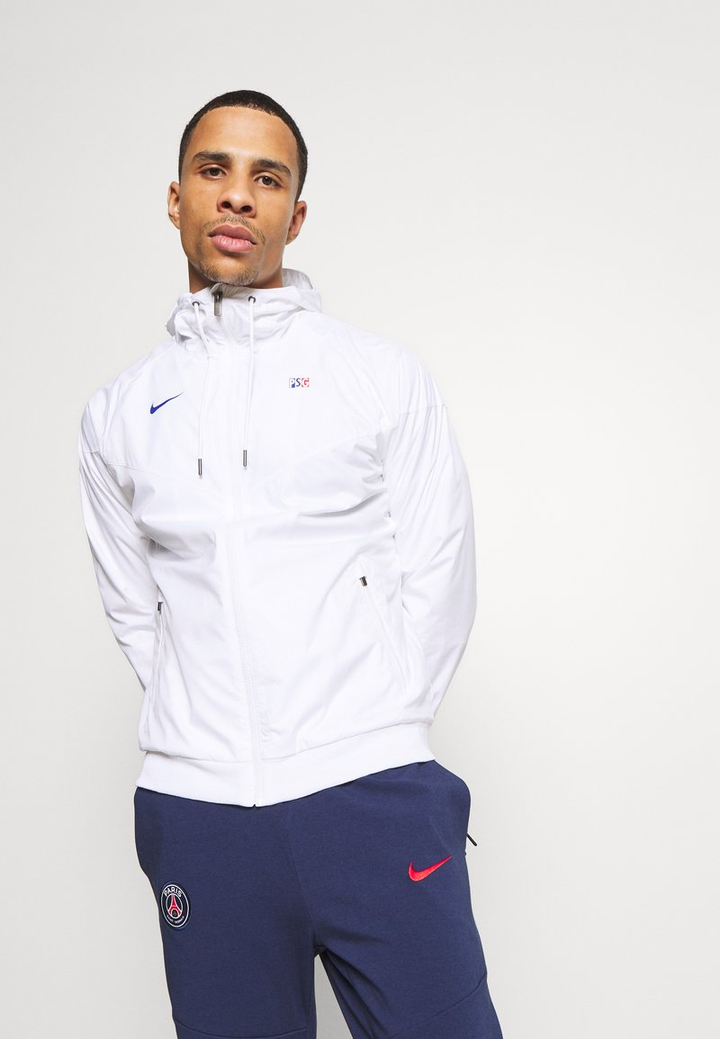 Nike Performance - PARIS ST GERMAIN - Club wear - white/old royal