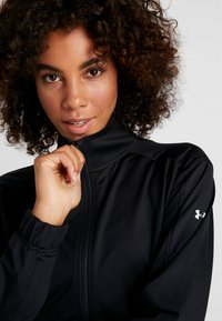 Under Armour - FULL ZIP - Chaqueta de entrenamiento - black/white - 3