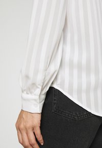 Anna Field - Semi sheer blouse - Camisa - white - 5