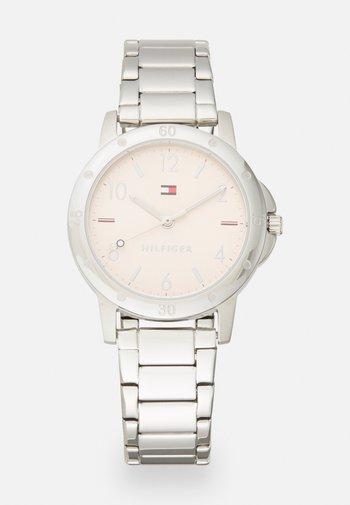 GIRLS WATCH - Watch - silver-coloured