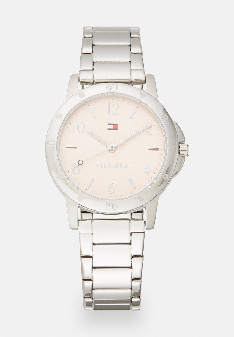 Tommy Hilfiger - GIRLS WATCH - Watch - silver-coloured