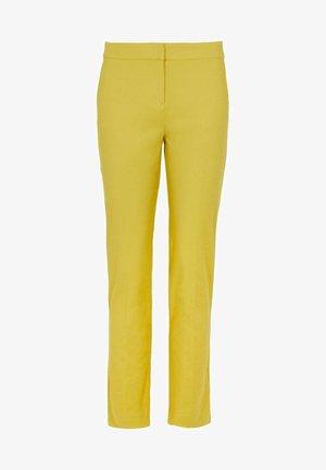 RICHMOND - Trousers - schwefelgelb