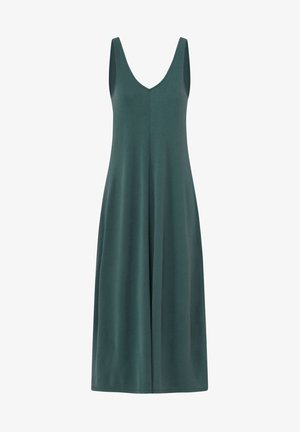 Jersey dress - evergreen