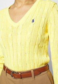 Polo Ralph Lauren - KIMBERLY - Svetr - lemon - 5