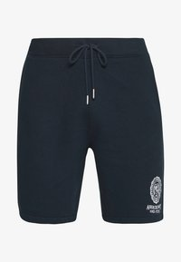 Abercrombie & Fitch - CREST TECH LOGO SHORT - Shorts - navy - 4