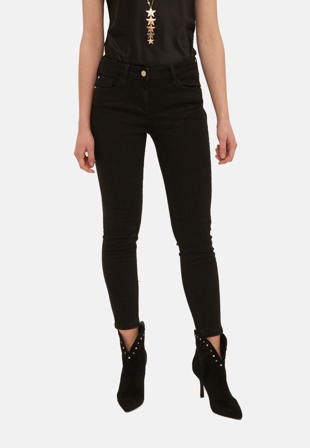 PUSH-UP - Jeans Skinny Fit - nero