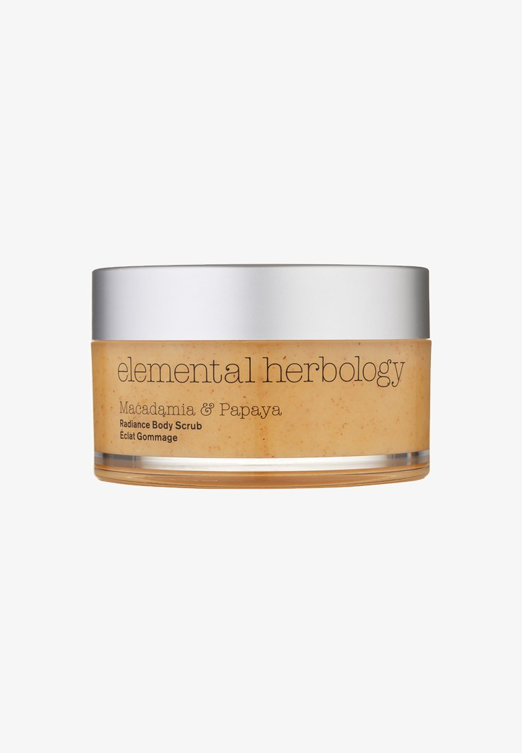 Elemental Herbology - MACADAMIA & PAPAYA BODY SCRUB 200ML - Body scrub - neutral