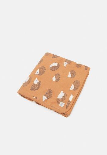 SHAWL BABY BLANKET HEDGEHOG - Baby blanket - light brown