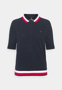 Tommy Hilfiger - REGULAR - Polo shirt - desert sky - 0