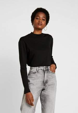 LOOSE FUNNEL - Camiseta de manga larga - black