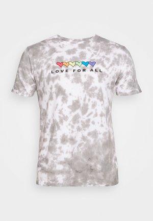 PRIDE - T-shirt print - grey
