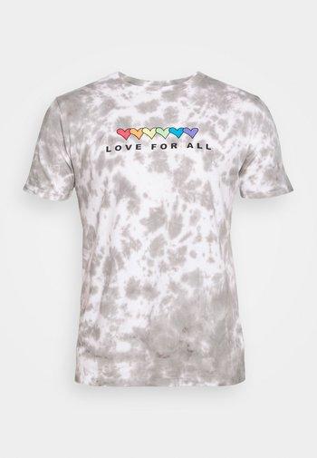 PRIDE - T-shirt z nadrukiem - grey