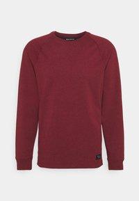 Black Diamond - BASIS CREW - Sweatshirt - dark crimson heather - 0