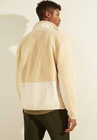 Guess - Fleece jacket - beige - 2