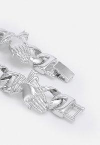 Urban Classics - PRAY HANDS BRACELET UNISEX - Bracelet - silver-coloured - 1