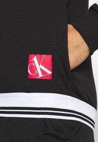 Calvin Klein Underwear - FULL ZIP - Huvtröja med dragkedja - black - 4