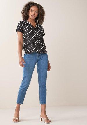 RESORT - Button-down blouse - black