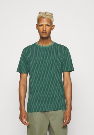 CLASSIC CREWNECK TEE - Print T-shirt - dark green