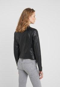 Belstaff - MOLLISON - Leather jacket - black - 2