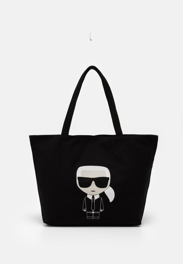IKONIK KARL TOTE - Shoppingväska - black