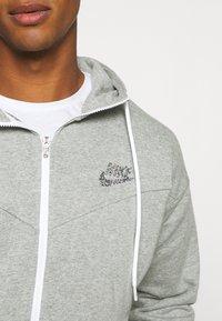 Nike Sportswear - HOODIE - Zip-up hoodie - dark grey heather - 4