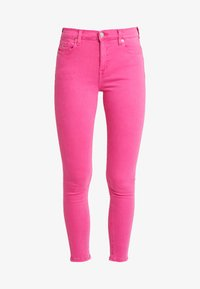 Tommy Jeans - NORA MID RISE SKINNY ANKLE - Jeansy Skinny Fit - pink - 4