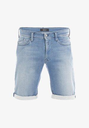 BRAD - Denim shorts - medium blue