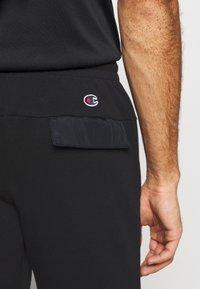 Champion - ELASTIC CUFF PANTS - Træningsbukser - black - 3